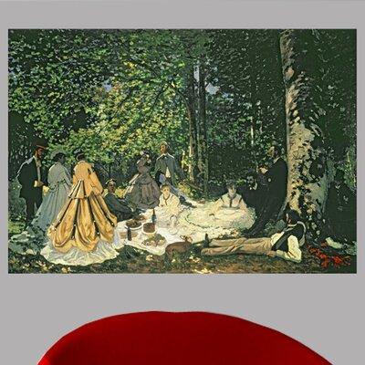 'Le Dejeuner sur l'Herbe' by Claude Monet Print Poster Size: 17