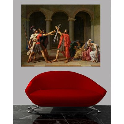 'The Oath of Horatii' Oil Painting Print Poster WNPR6917 41867219