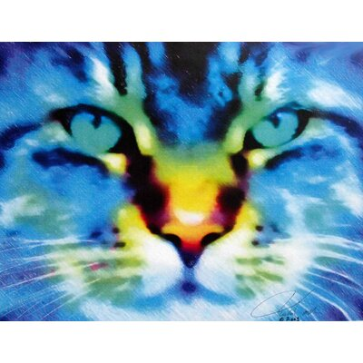 Tymeless Wonders 'Cat' Graphic Art Print Poster Size: 18.5