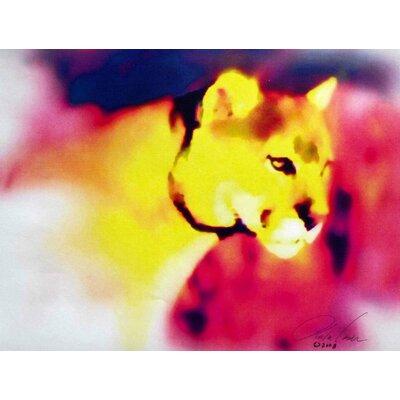 Tymeless Wonders 'Cougar' Graphic Art Print Poster Size: 18