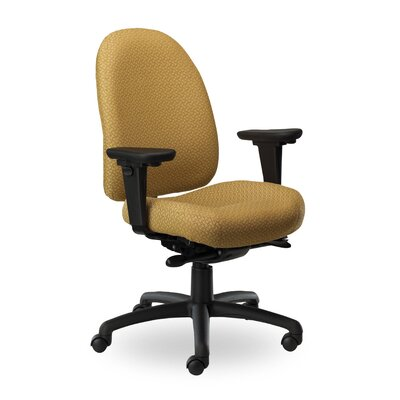 Pearl II Mid-Back Desk Chair Upholstery: Grey PE310 Q35 TC WAB Grade 1 Icon Grey