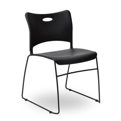 Indy Sled Base Guest Chairs Finish: Black