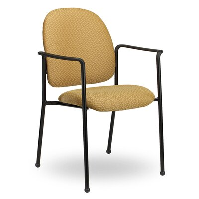 Pearl II Guest Chair Seat Color: Black