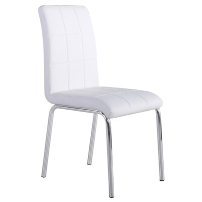 Upholstered Dining Chair Color: Stark White