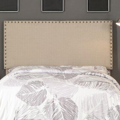 Queen Upholstered Panel Headboard Upholstery: Natural Linen