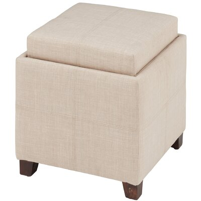 Ottoman Upholstery: Beige