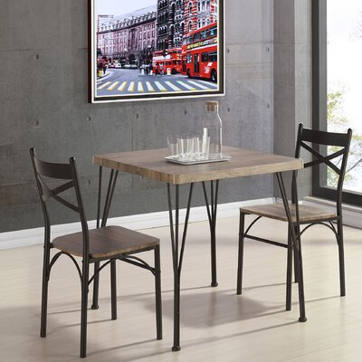 Sagers 3 Piece Dining Set