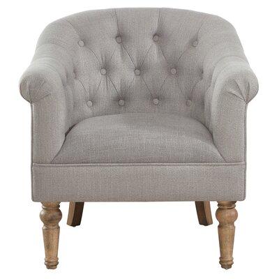 Loredana Armchair Upholstery: Gray