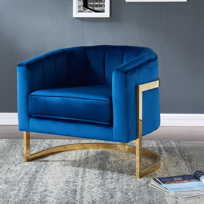 Borger Metal Frame Armchair