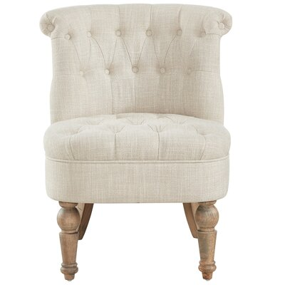 Linnea Slipper Chair Upholstery: Beige