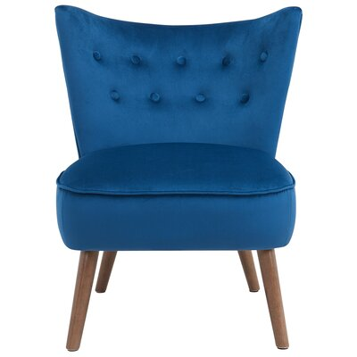 Liam Side Chair Upholstery: Blue