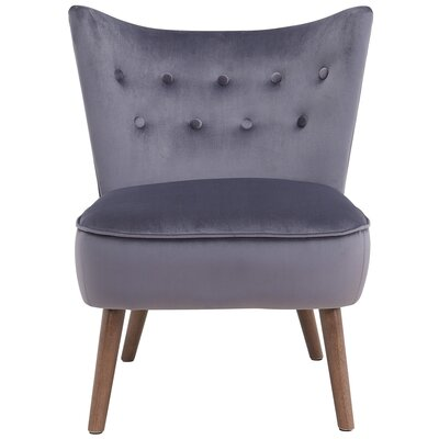 Liam Side Chair Upholstery: Gray