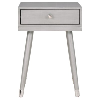 Wardlow End Table Color: Gray