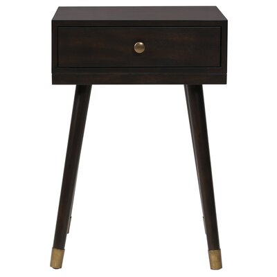 Wardlow End Table Color: Walnut