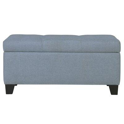 Kenneth Storage Ottoman Upholstery: Light Blue