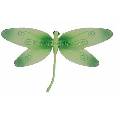 Dragonfly Hanging Swirls Nylon 3D Wall Decor Size: 5
