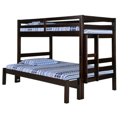 Twin Over Full Bunk Bed Color: Cappuccino