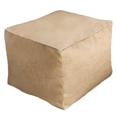 Adamstown Contemporary Outdoor/Indoor Pouf Ottoman Upholstery: Sailcloth Space