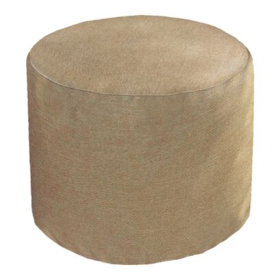 Adamstown Outdoor/Indoor Round Pouf Ottoman Upholstery: Sailcloth Space