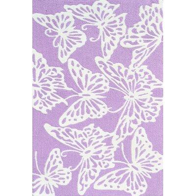 Handmade Lavender Area Rug