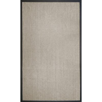 Handmade Marble and Black Area Rug Rug Size: 5' x 8'