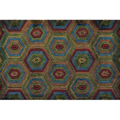 Handmade Area Rug Rug Size: 5 x 8