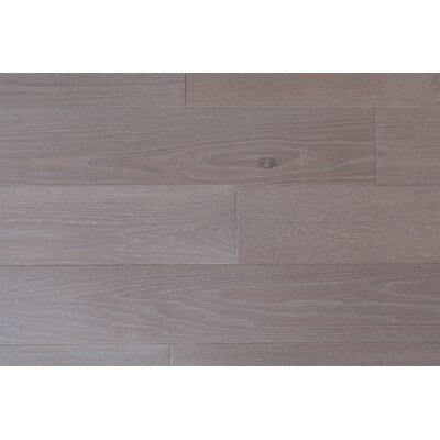 Alpine Trail 7 Inch Engineered Oak Wide Plank Flooring in Glacier Gray