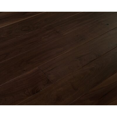 Alpine Trail 7 Inch Engineered Walnut Wide Plank Flooring in Bighorn Brown