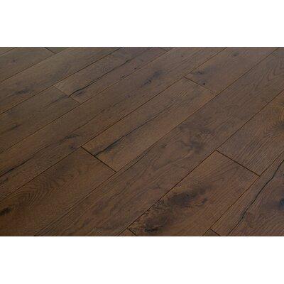 Beach Cove White Oak 7 Inch Wide Plank Flooring in Pelican Brown