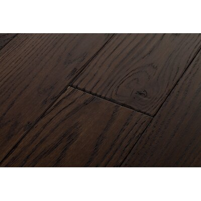 Rivers Edge White Oak 5 Inch Wide Plank Flooring in Cattail Dark Brown