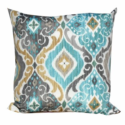 Persian Mist Outdoor Throw Pillow