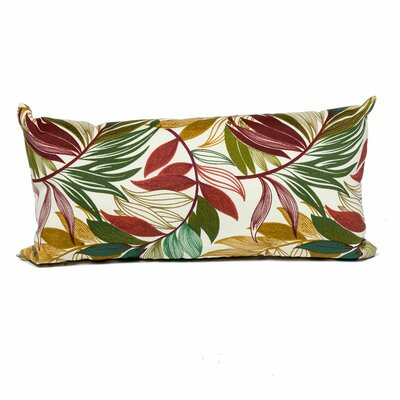 Sesame Palm Outdoor Lumbar Pillow