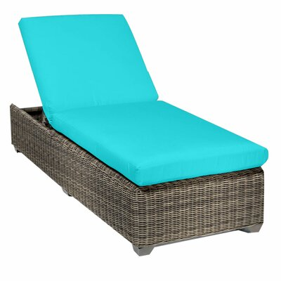 Cape Cod Chaise Lounge with Cushion Fabric: Aruba