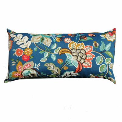Wild Flower Outdoor Lumbar Pillow
