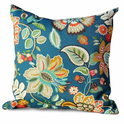 Wild Flower Outdoor Throw Pillow
