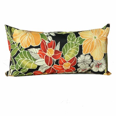 Floral Outdoor Lumbar Pillow