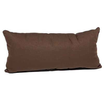 Outdoor Lumbar Pillow Color: Cocoa