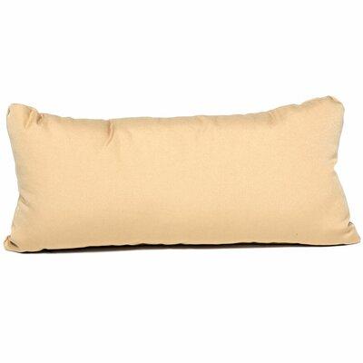 Outdoor Lumbar Pillow Color: Sesame