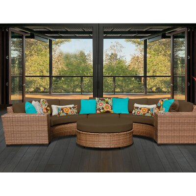 Laguna 6 Piece Seating Group with Cushion