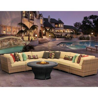 Laguna Sofa With Cushions Fabric: Sesame