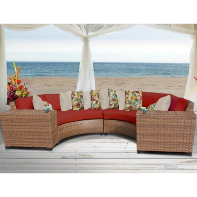 Laguna 4 Piece Deep Seating Group with Cushion