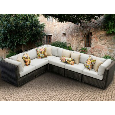 Venice Sofa With Cushions Fabric: Beige