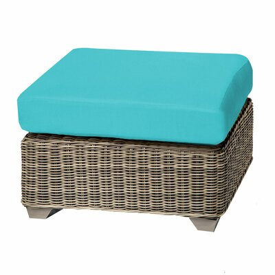 Cape Cod Ottoman with Cushion Fabric: Aruba