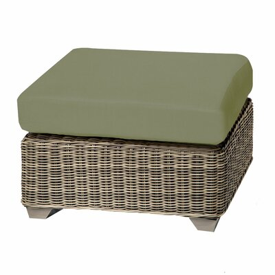 Cape Cod Ottoman with Cushion Fabric: Cilantro
