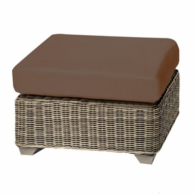 Cape Cod Ottoman with Cushion Fabric: Cocoa