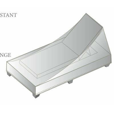 Outdoor Protective Chaise Lounge Cover