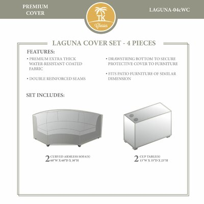 Laguna Winter 4 Piece Cover Set