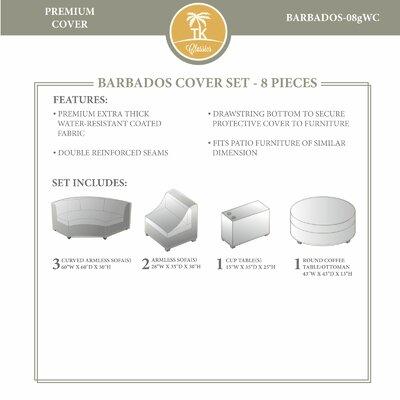 Barbados Winter 7 Piece Cover Set
