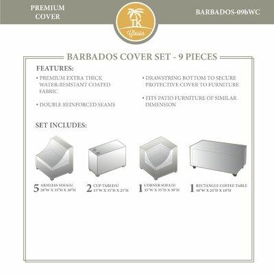 Barbados Winter 9 Piece Cover Set