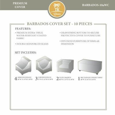 Barbados Winter 10 Piece Cover Set